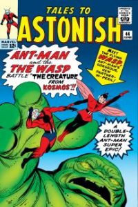 historieta Ant Man
