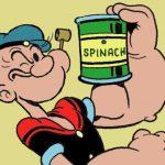 Porque Popeye tiene un ojo cerrado