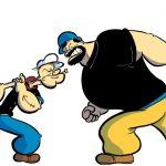 Bluto, el eterno enemigo de Popeye el marino