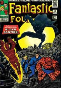 Historieta pantera negra