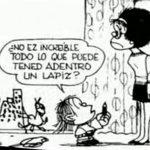 Guille mafalda, el hermano menor de la niña rebelde