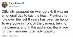 chris evans capitan america