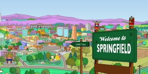 ciudades de dibujos animados