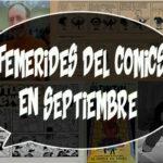 Efemérides del comics en Septiembre