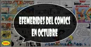 efemerides del comics en octubre